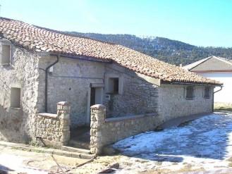 Fachada exterior de la Casa Rural Aldea
