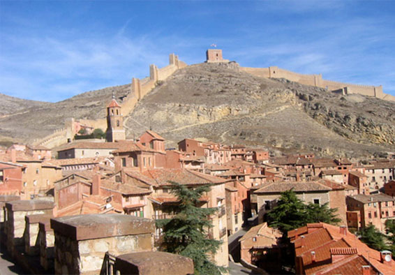 Vista general de Albarracín