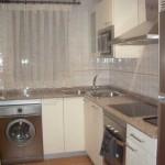 Vista de una cocina