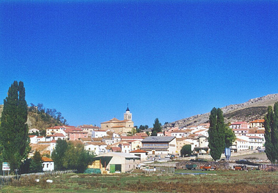 Vista general de Frías de Albarracín