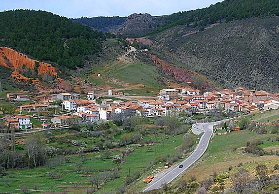 Vista general de Noguera de Albarracín