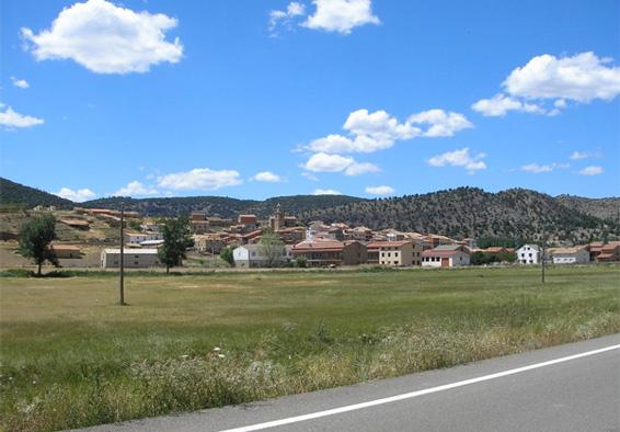Vista general de Royuela