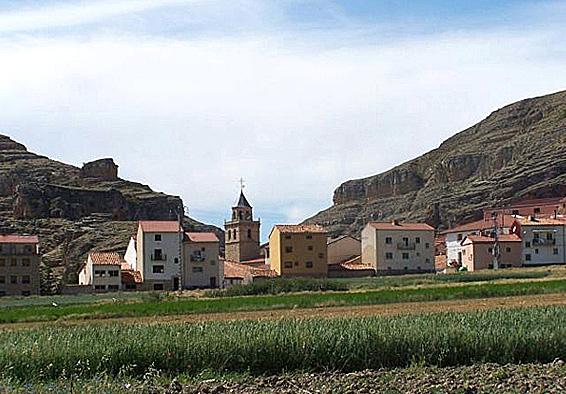 Vista general de Villar del Cobo