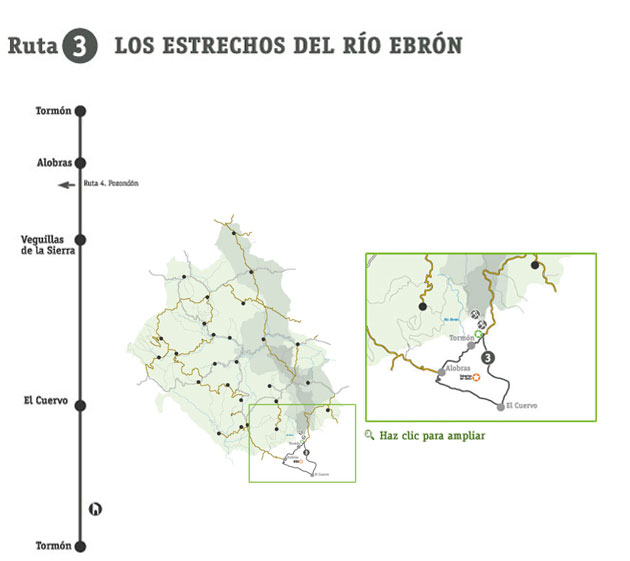 Rutas - Los Estrechos del Río Ebrón