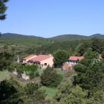 Vista general del albergue